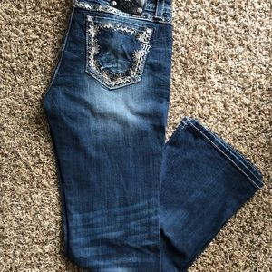 Miss Me Signature Boot Jeans Size 33